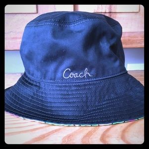 Tags still on!! Reversible! Coach Bucket Hat